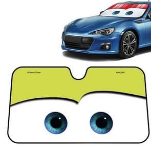 Car Eyes Windshield Sunshade Car Window Windscreen Cover Sun Shade Protection Auto Sun Visor Car-cover, Size:130x70cm