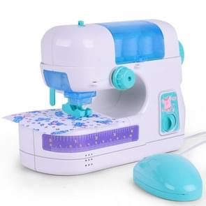 Simulation Electric Sewing Machine Home Furniture Children Puzzle Play House Toy