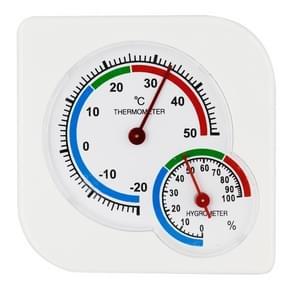 A7 multi-functionele binnen weer station-20 graden C-50 graden C vochtigheid hygrometer thermometer Home temperatuur meter  Random kleur levering