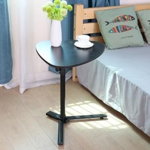 Eenvoudige verwijderbare vouwen Lift luie computer tafel (zwart)