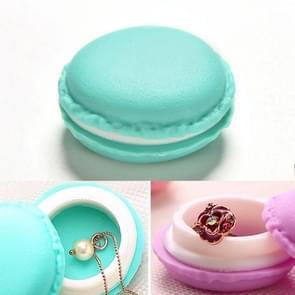 2 PCS Fashionable Macaron Storage Box  Jewelry Ring Box