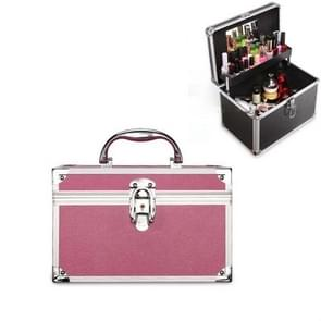 Cosmetica multifunctionele opslagbox technicus voet bad toolbox  grootte: klein (roze)