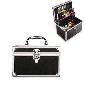 Cosmetica multifunctionele opslagbox technicus voet bad toolbox  grootte: klein (zwart)