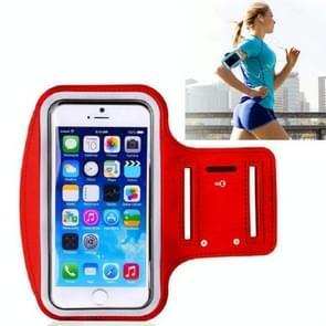 10 PCS Sports Outdoor Arm Bag Fitness met Touch Screen Mobiele Telefoon Arm Bag  Grootte: Groot (Rood)