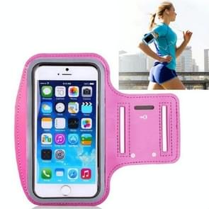 10 PCS Sports Outdoor Arm Bag Fitness met Touch Screen Mobiele Telefoon Arm Bag  Grootte: Groot (Rose Red)