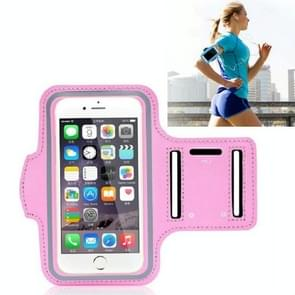 10 PCS Sports Outdoor Arm Bag Fitness met Touch Screen Mobiele Telefoon Arm Bag  Grootte: Groot (Roze)