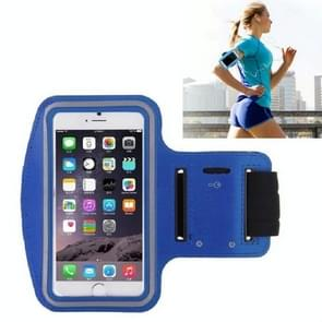 10 PCS Sports Outdoor Arm Bag Fitness met Touch Screen Mobiele Telefoon Arm Bag  Grootte: Groot (Donkerblauw)