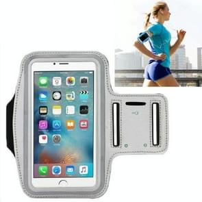 10 PCS Sports Outdoor Arm Bag Fitness met Touch Screen Mobiele Telefoon Arm Bag  Grootte: Groot (Grijs)