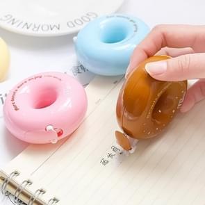 LMT035 creatieve leuke donut correctie tape student briefpapier school benodigdheden  willekeurige kleur levering