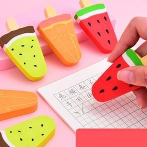PCS Cute Cartoon Fresh Fruit Eraser Office School Supplies Student Stationery(Random Color Delivery)