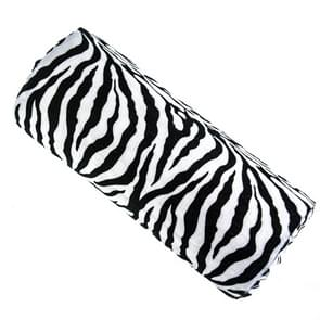 3 PCS Professional Zebra Stripe Long Towel Hand Pillow Manicure Manicure Tools