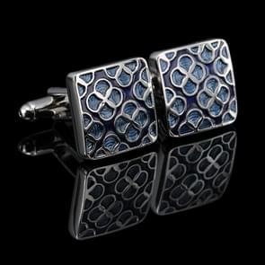 Luxury shirt cufflinks for mens Brand cuff button(Sliver)