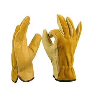 2 Pairs Motorcycle Gloves Riding Gloves Garden Labor Protection Safety Gloves, SIZE:L