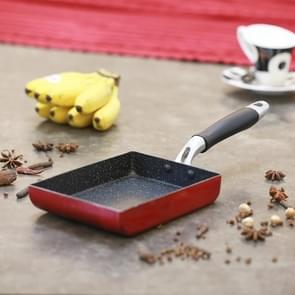 Dik ei Roll koekenpan Maifan steen non-stick pan, grootte: 13.5 x 18.6 cm