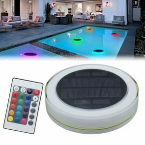 24 LEDs RGB LED Underwater Solar Power IP68 Waterproof LED Light with Remote Control