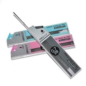 3 PCS 2B Pencil Lead Refill Automatic Pencil Rod Refills Stationery for Office School, Random Color Delivery(0.7mm 2B Pencil Lead)