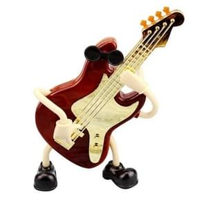Plastic Violin Shape Music Box Movement Clockwork Music Box Gift(63246)