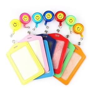 10 PCS Retractable Reel Badge Lanyard Tag Key Card Belt Clips, Random Color