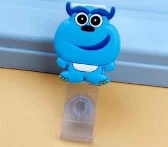 3PCS Monster University Transparent Retractable Badge ID Card Clip Badge Lanyard Card Holder 5