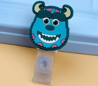 3PCS Monster University Transparent Retractable Badge ID Card Clip Badge Lanyard Card Holder 7