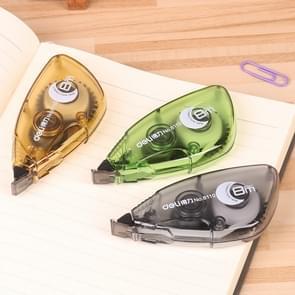 N81427 2 PC'S grote capaciteit voortdurend met correctie tape leren tools student briefpapier geschenken (willekeurige kleur levering)