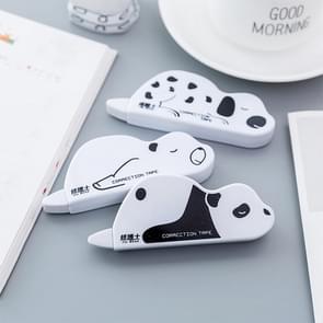 2 PC'S cute creatieve dierlijke vorm correctie belt Office school supplies student briefpapier willekeurige kleur levering