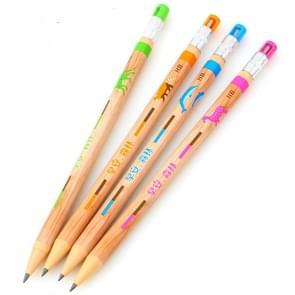 4 STKS cartoon dier kinderen milieubescherming potlood schets speciale tekening school benodigdheden briefpapier