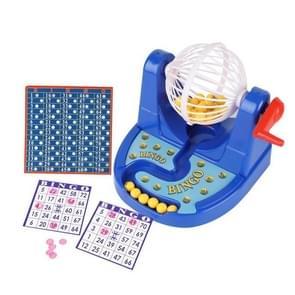 Cartoon Mini Bingo spel machine met loterijnummers ballen speelgoed