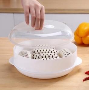2 stuks microgolfoven fornuis stoom koken pot accessoires groenten zeevruchten Steamer, lagen: enkellaags