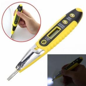 Socket Wall AC Power Outlet Voltage Detector Sensor Tester Electric Test Pen LED Light Voltage Indicator