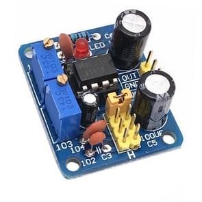 NE555 Pulse Module Board Frequency Duty Cycle Verstelbare Vierkante Golf Rechthoekige Golf Signaal Generator