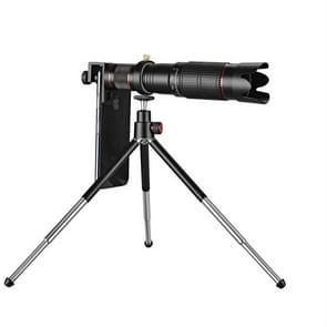Universele externe 36X zoom Telephoto telefoon telescoop lens met statief mount & mobiele telefoon clip & Bluetooth afstandsbediening