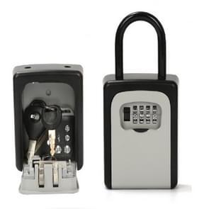 Safty Key Lock Box Combination Portable Aluminium Alloy Key Safe Box Security Key Holder Secure Box