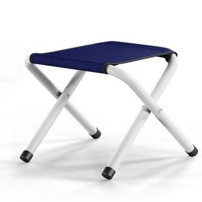 Portable Folding Stool for Camping Climbing Fishing(Navy Blue Without Cotton Pad)
