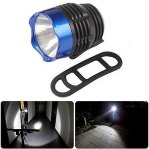 Fietsen Q5 LED 3 modi voor licht koplamp koplamp zaklamp waterdicht voor Mountain racefiets (zwart blauw)