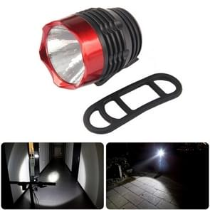 Fietsen Q5 LED 3 modi voor licht koplamp koplamp zaklamp waterdicht voor Mountain racefiets (zwart rood)