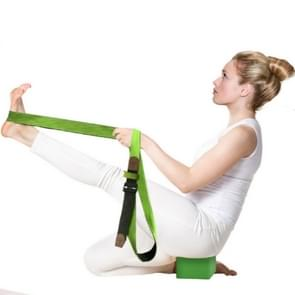 Cotton Double Yoga Stretch Band Resistance Band, Size: 300 x 3.8cm(Random Color Delivery)