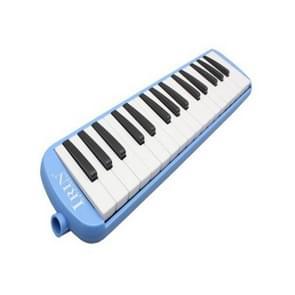 IRIN 001 32-sleutels accordeon melodica mondelinge piano kind student beginner muziekinstrumenten (blauw)
