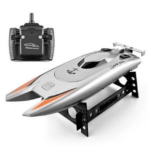 Kinderen Water Speelgoed High-speed Remote Control Boat 7.4 V Grote capaciteit Batterij Speed Boat Racing Boat (Zilvergrijs)