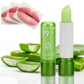 3 PCS Moisture Lip Balm Aloe Vera Natural Lipbalm Temperature Changed Color Lipstick Long Lasting Nourish Protect Lips Care Makeup(3.5g)