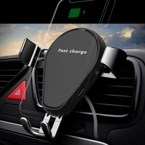 KT-C5 15W rotatable Car Gravity Wireless Charger Air Outlet Mobiele Telefoon Houder