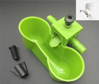 10 stuks Bird kwartel drinken Waterer water Bowl voederen tools