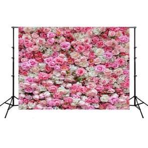 2.1 m x 1.5 m bloem muur simulatie Rose Bruiloft partij arrangement 3D fotografie achtergrond doek (H2)
