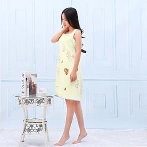 Bath Towels Fashion Lady Wearable Fast Drying Magic Bath Towel Beach Spa Bathrobes Bath Skirt(light yellow)
