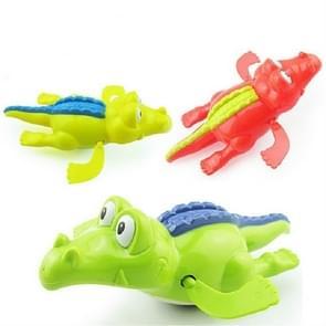 2 stuks badkamer kinderen spelen met water speelgoed cartoon Clockwork Toy (willekeurige kleur levering)  stijl: krokodil