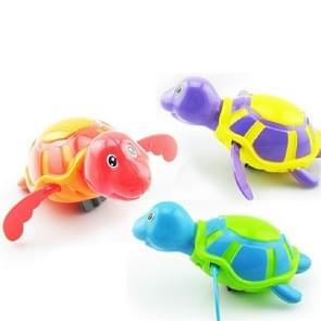 2 stuks badkamer kinderen spelen met water speelgoed cartoon Clockwork Toy (willekeurige kleur levering)  stijl: water schildpad