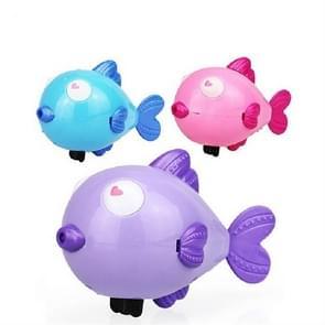 2 stuks badkamer kinderen spelen met water speelgoed cartoon Clockwork Toy (willekeurige kleur levering)  stijl: kus vis