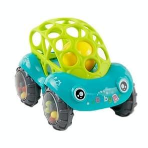Baby plastic niet-toxisch kleurrijke dieren hand Jingle schudden Bell auto rammel bels speelgoed muziek Handbell voor kinderen (groen)