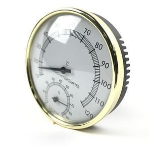 Roestvrijstalen stoomkamer bad Sauna indoor thermometer Hygrom