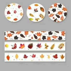 3 Rolls / Box Creative Paper Tape Decoration Stickers(47294-Fenglin night)